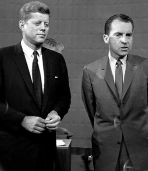 Nixon and Kennedy Debating