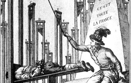 La Rigueur: Frenchmen are sacrificed to appease Austerity.