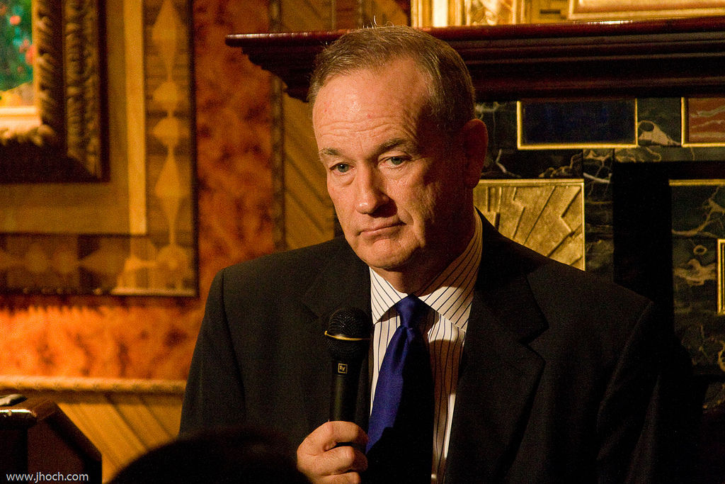 Bill O'Reilly (by Justin Hoch).