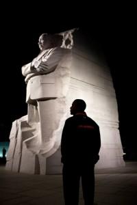 President Barack Obama at the Martin Luther King, Jr. National Memorial in Washington, D.C., Oct. 14, 2011. Retrieved from http://www.whitehouse.gov/