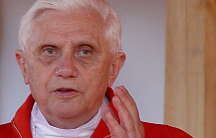 Pope Benedict XVI is now Joseph Ratzinger. His legal future remains unclear.