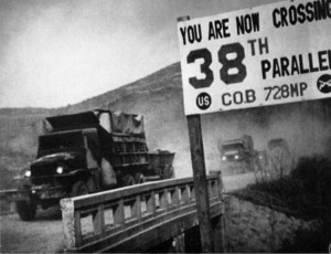 Crossing the 38th Parallel. Source: National Archives and Records Administration