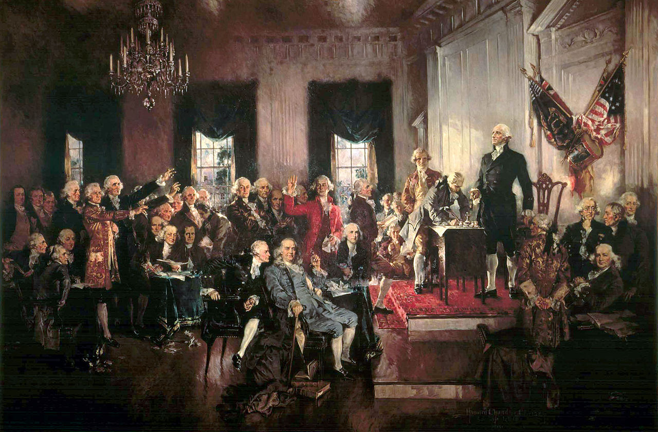 Signing of the Constitution of the United States (by