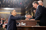President Barack Obama and House John Boehner before the 2011 State of the Union (by Pete Souza;