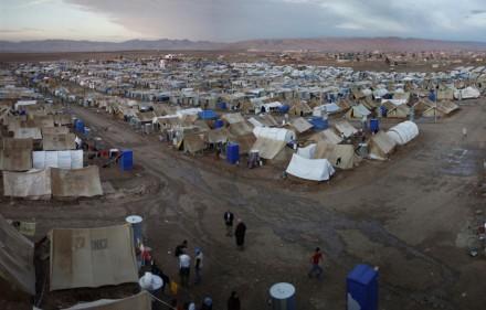 The Domiz refugee camp in Iraq. Photo from UNHCR.