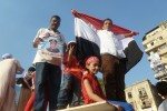 Morsi's ouster celebrations (by Voice of America; public domain)