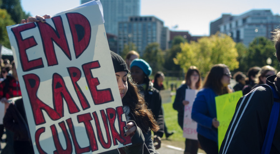 March Against Rape Culture and Gender Inequality, Boston, 2012. By Chase Carter, Flickr. Creative Commons License.