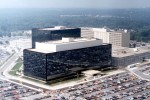 NSA Headquarters, Ft. Meade MD.  U.S. Gov't Work, Wikimedia Commons, Public Domain.
