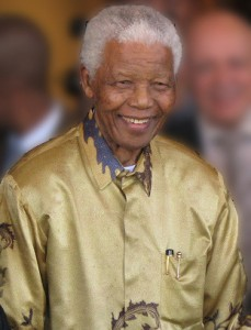 Nelson Mandela in 2008. Source: Wikipedia Commons. Creative Commons