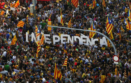 Independence for Catalonia. Joanjo Aguar Matoses, Flickr, Creative Commons.