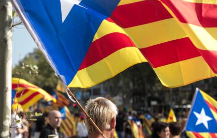 Catalan National Day, 2012. Ivan McClellan, Creative Commons.