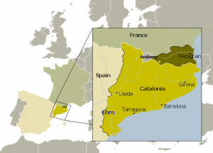 Catalonia. Wikimedia Commons, Creative Commons.