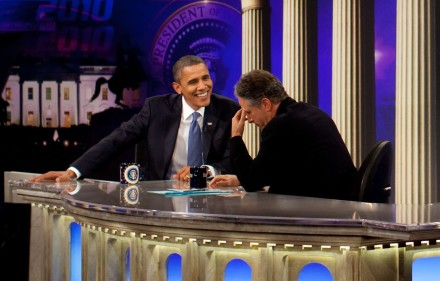 President Obama on the Daily Show.