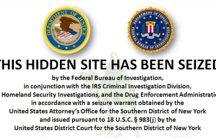 Silk Road Seized. Creative Commons, Wikimedia Commons.