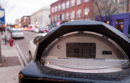 Chicago's Parking Meters. Ed Fisher, Flickr, Creative Commons.