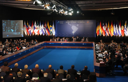 A meeting of the Ibero-American Summit