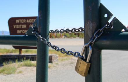 A closed national park. Via Daveynin on Flickr