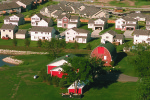 Suburbs in Iowa.   Image Public Domain.