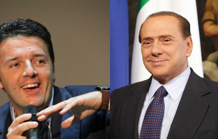 Matteo Renzi, 39, is expected to replace a fellow member of the Democratic Party as interim Prime Minister of Italy. Former PM Silvio Berlusconi, 77, has voiced invaluable support of Renzi's policies.