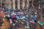 Euromaidan protest in Kiev. Nessa Gnatoush, Wikimedia Commons, Creative Commons License.