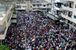 Arab Spring protest in Syria. Creative Commons.