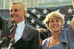 Walter Mondale and Geraldine Ferraro campaign for the 1984 general election. Flickr. Creative Commons License.