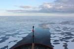 U.S. Coast Guard Cutter Healy in the Beaufort Sea, northeast of Barrow, Alaska