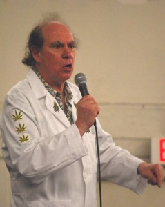 Ed Rosenthal, well-known marijuana legalization activist.