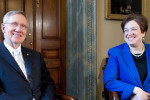 Senator Harry Reid and Justice Elena Kagan