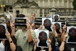 Protests for Troy Davis, executed in 2011. Image via World Coalition Against the Death Penalty, Flickr.