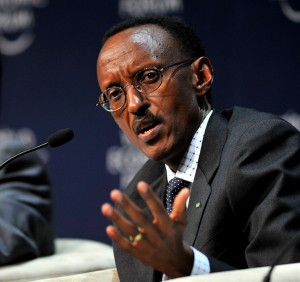 President Paul Kagame. Wikimedia Commons. Creative Commons License.