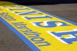 Boston Marathon finish line. By Wally Gobetz, Flickr, Creative Commons.