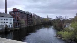 The Blackstone River in Pawtucket