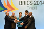 BRAZIL-BRICS-FAMILY PHOTOGRAPH