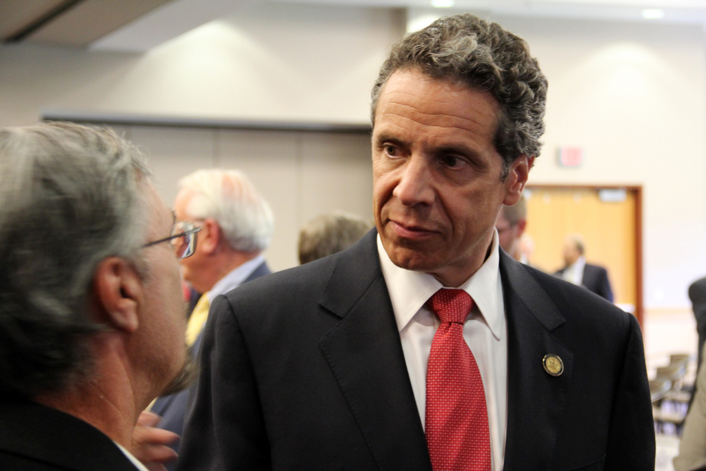 Governor Andrew Cuomo of New York, one of the first Democrats to distance himself from the Common Core.
