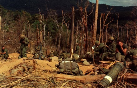 12th_Inf,_4th_Inf_Div,_Vietnam_War_Hill_530