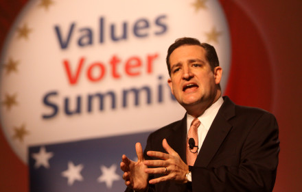 Cruz Speaking at the Value Voters Summit in 2011.