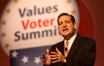 Cruz Speaking at the Value Voters Summit in 2011.