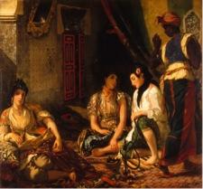 Eugène Delacroix's Les Femmes d'Algere
