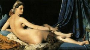 Jean-Aguste-Dominique Ingres' Grande Odalisque