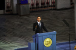 President Obama receives Nobel Peace Prize in Oslo Photo: MFA Norway/ Per Thrana