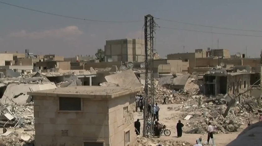 Azaz_Syria_during_the_Syrian_Civil_War_Wide_Angel_of_Damage[1]
